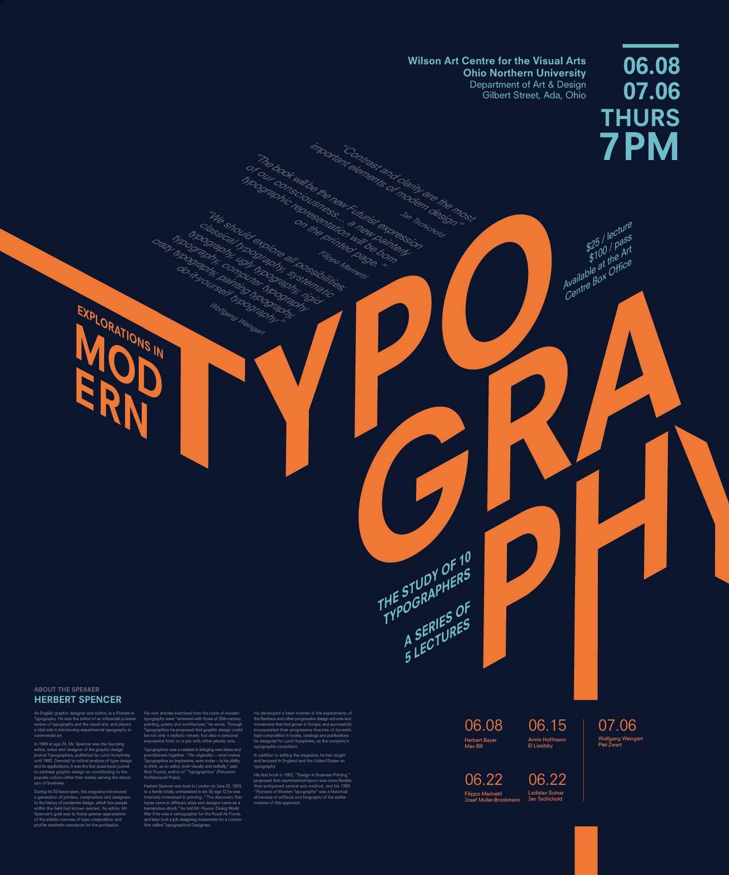 Emily chok modern explorations a broadsheet designed to push the limitations of typography bringing 3d elements in a 2d space solutioingenieria Choice Image