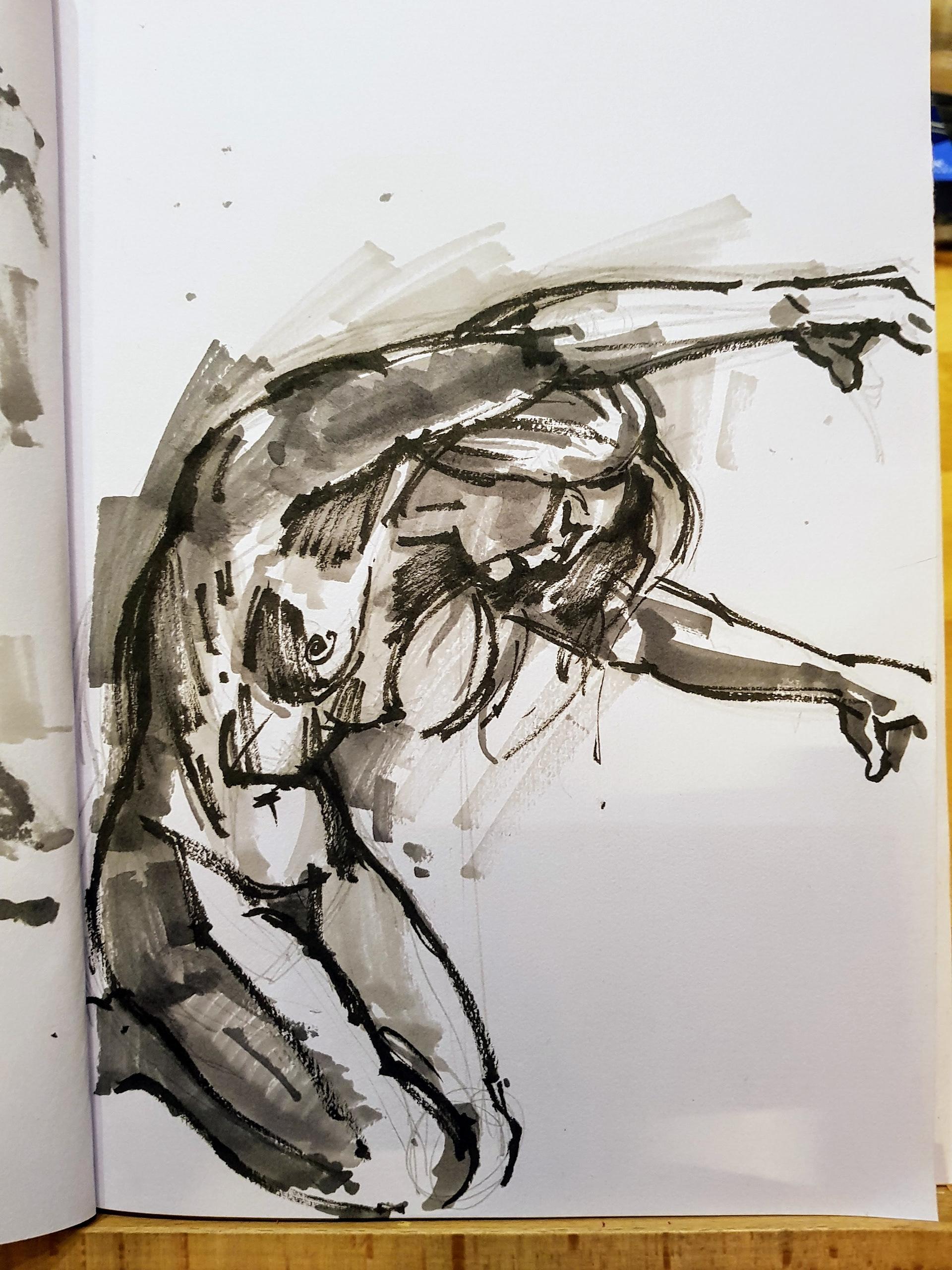 Chris Davies - artist and illustrator in West Midlands UK