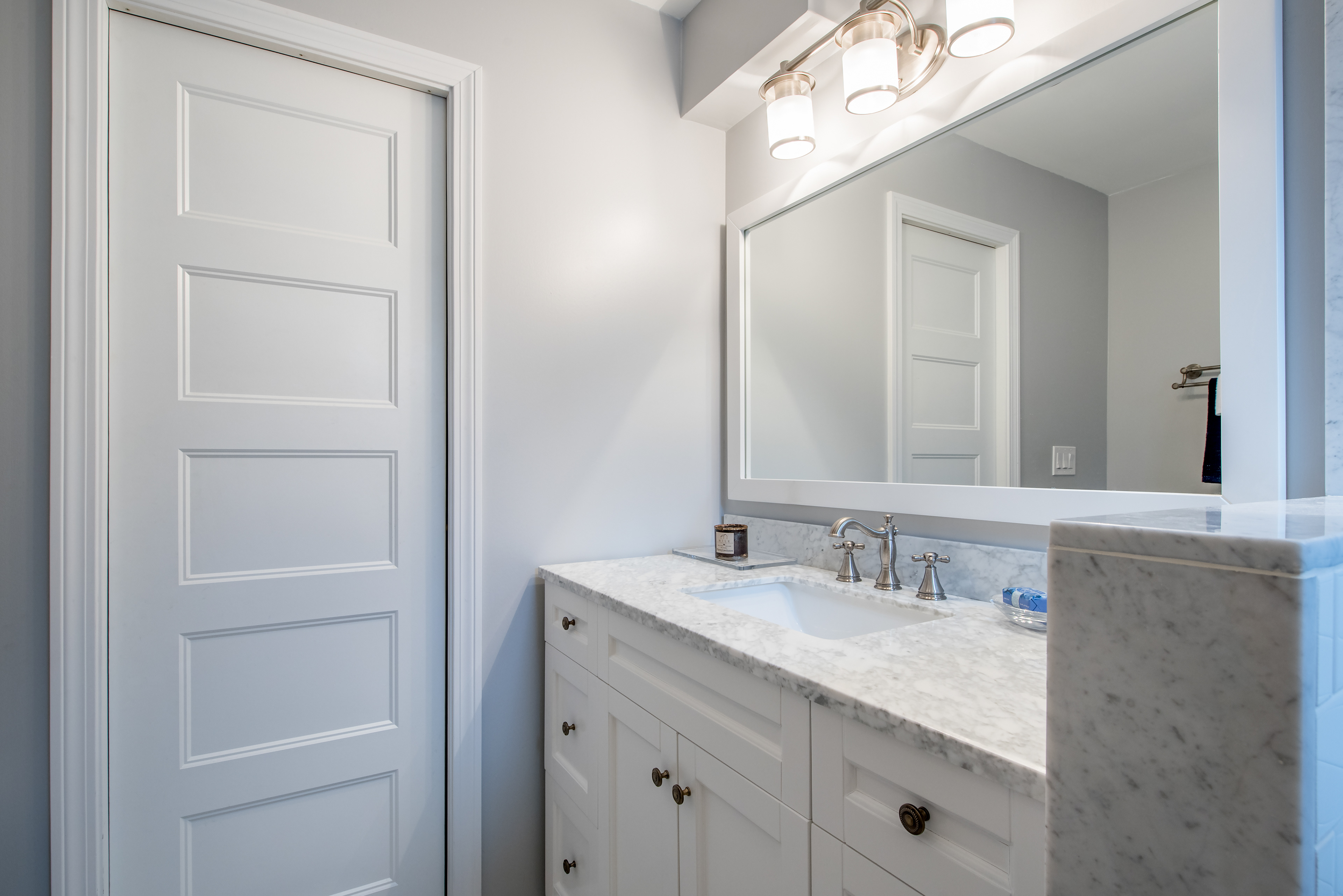 Claire Gardner - East Boston- Master Bathroom Design