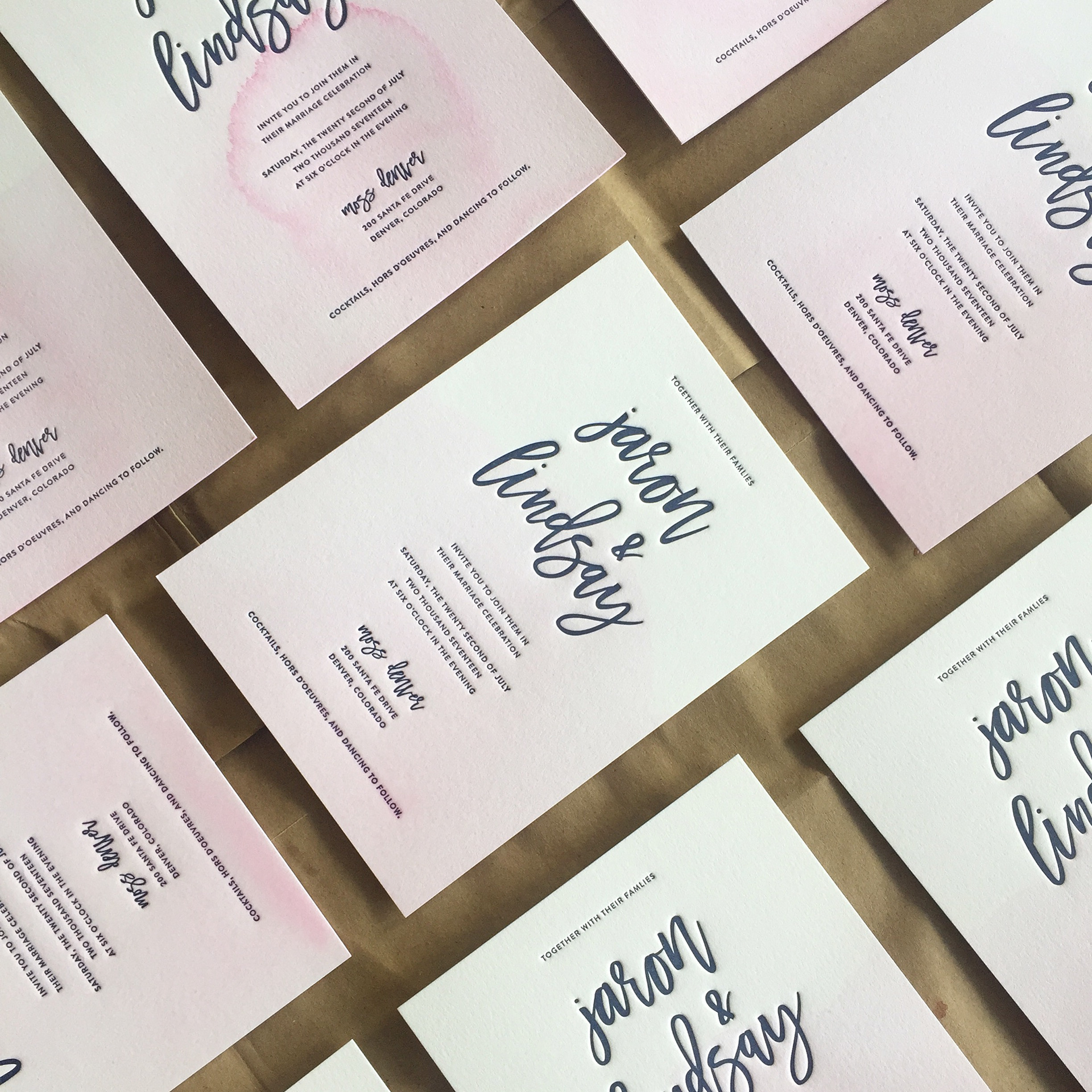 Zoe Burton | Design Portfolio - Johns Wedding Suite