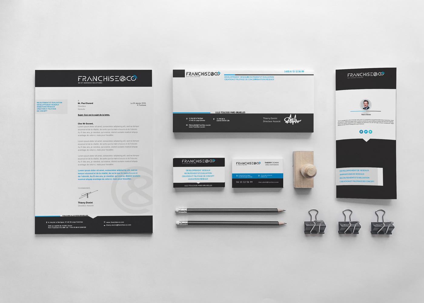 loolye labat graphiste webdesigner logo charte graphique franchise co toulouse. Black Bedroom Furniture Sets. Home Design Ideas