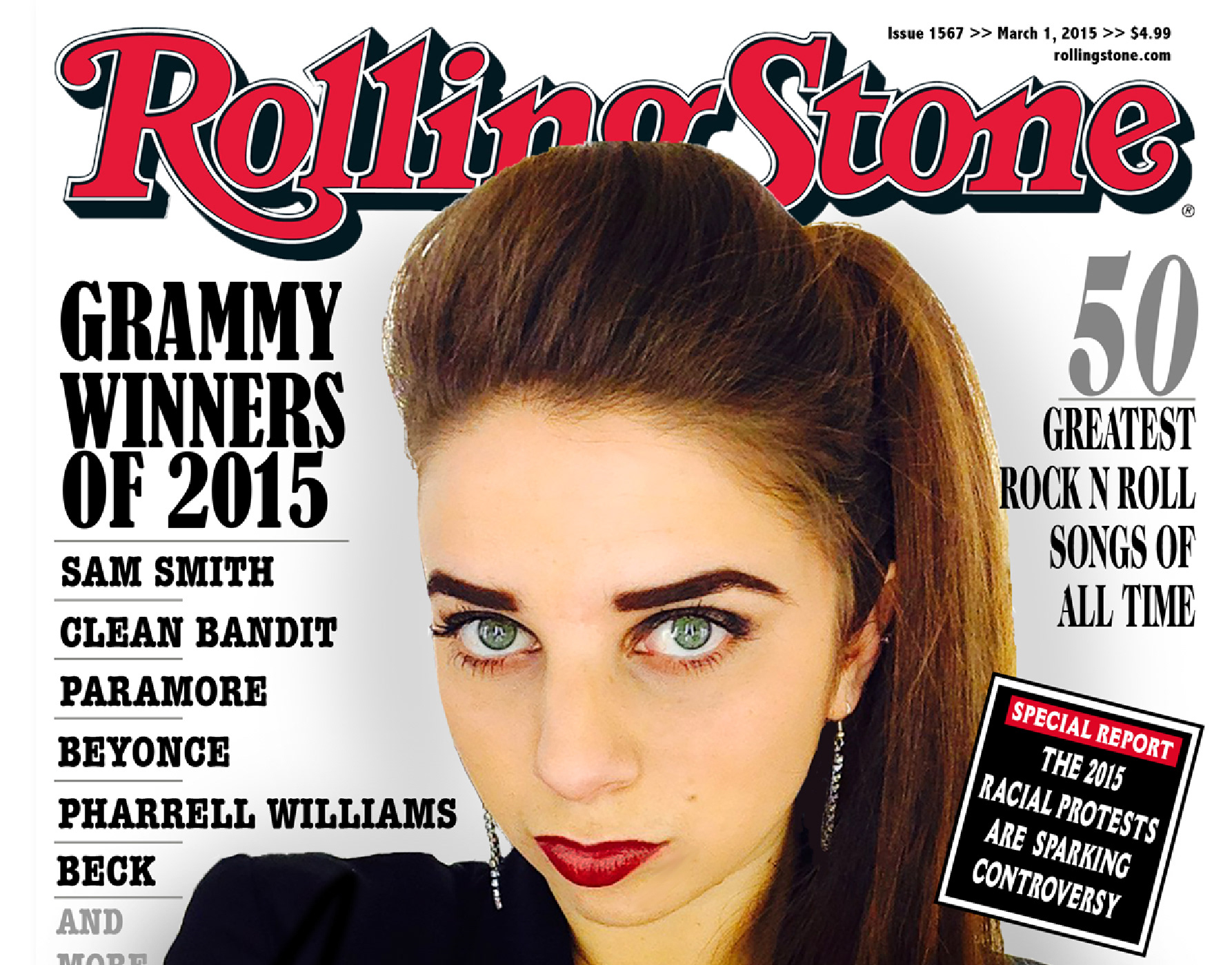 Allison Smith - Rolling Stone Cover