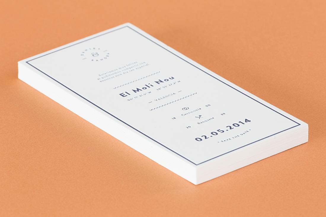 Paula M. Montoto – Graphic design 👀 - D&S – Wedding Invitation