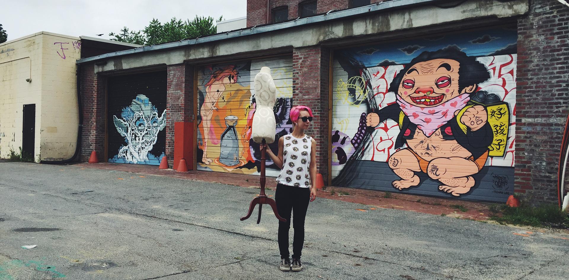 Maggie Gaudaen DC Art Director and Designer