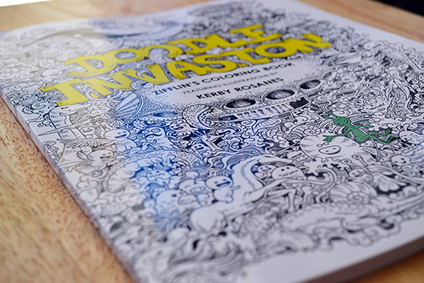 A Coloring Book Featuring 50 Unique And Detailed Doodles Illustrations Published By Zifflin In 2013
