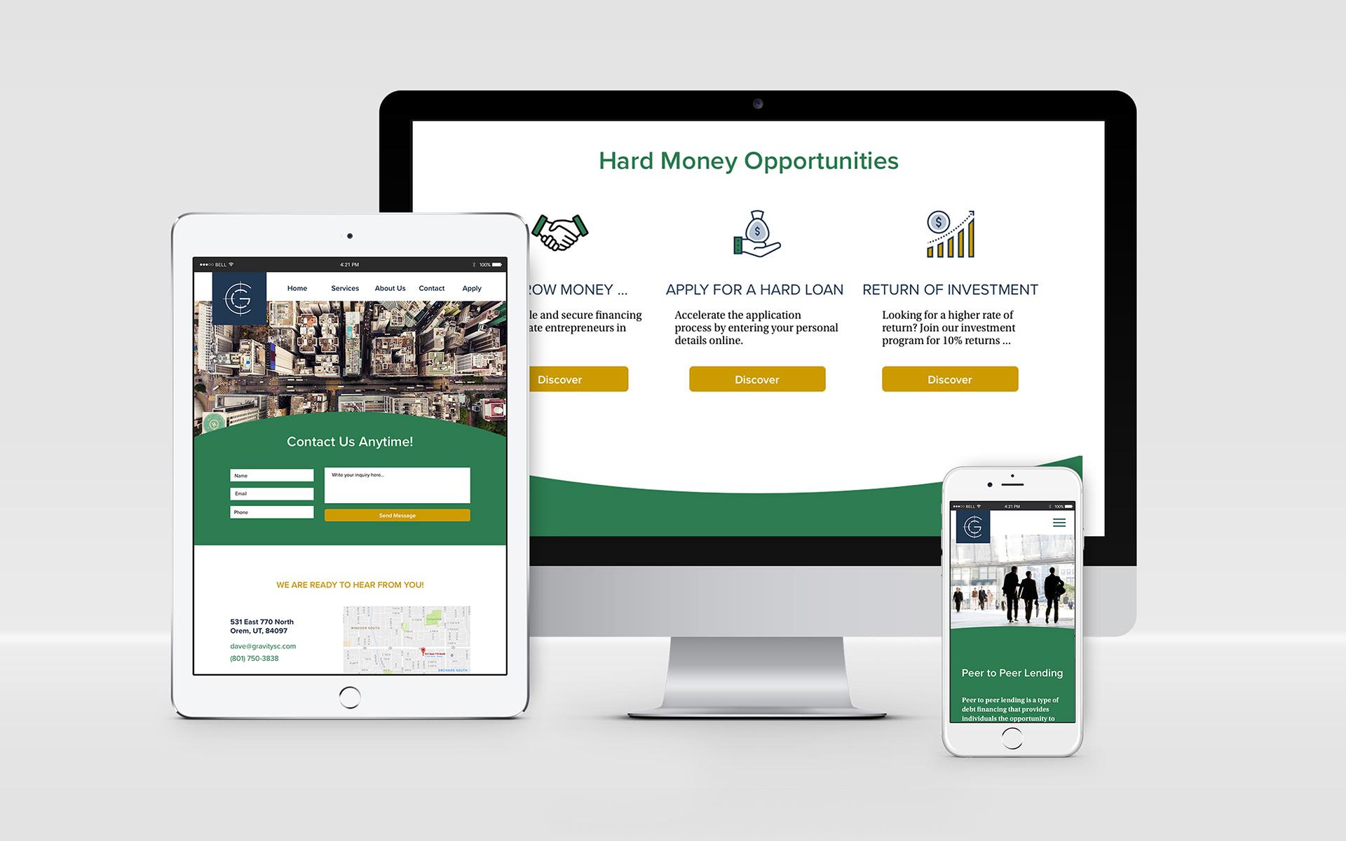 Nicole Gowans - Money Lender Website