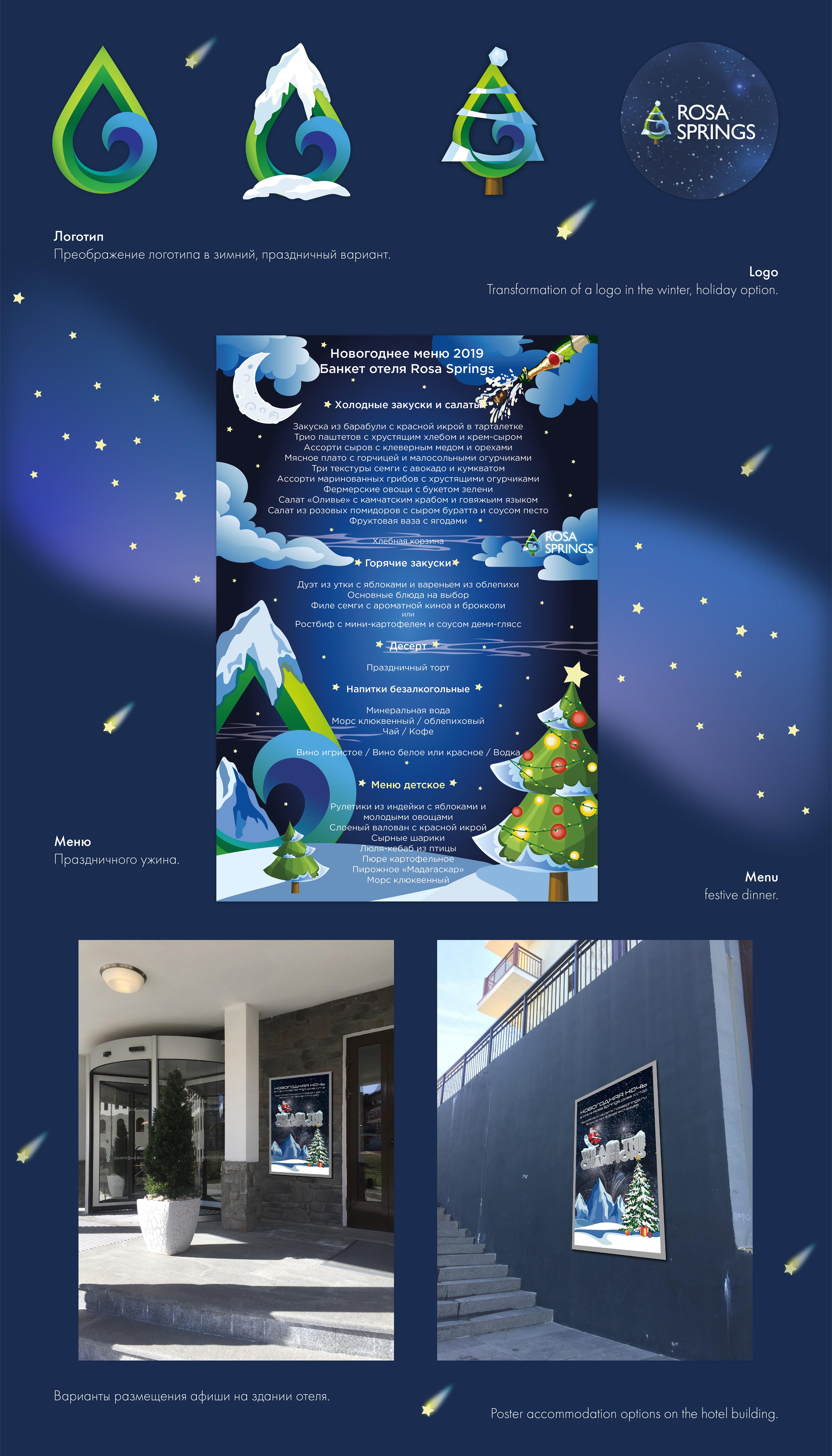 Natalya Nova - New Year's Eve poster