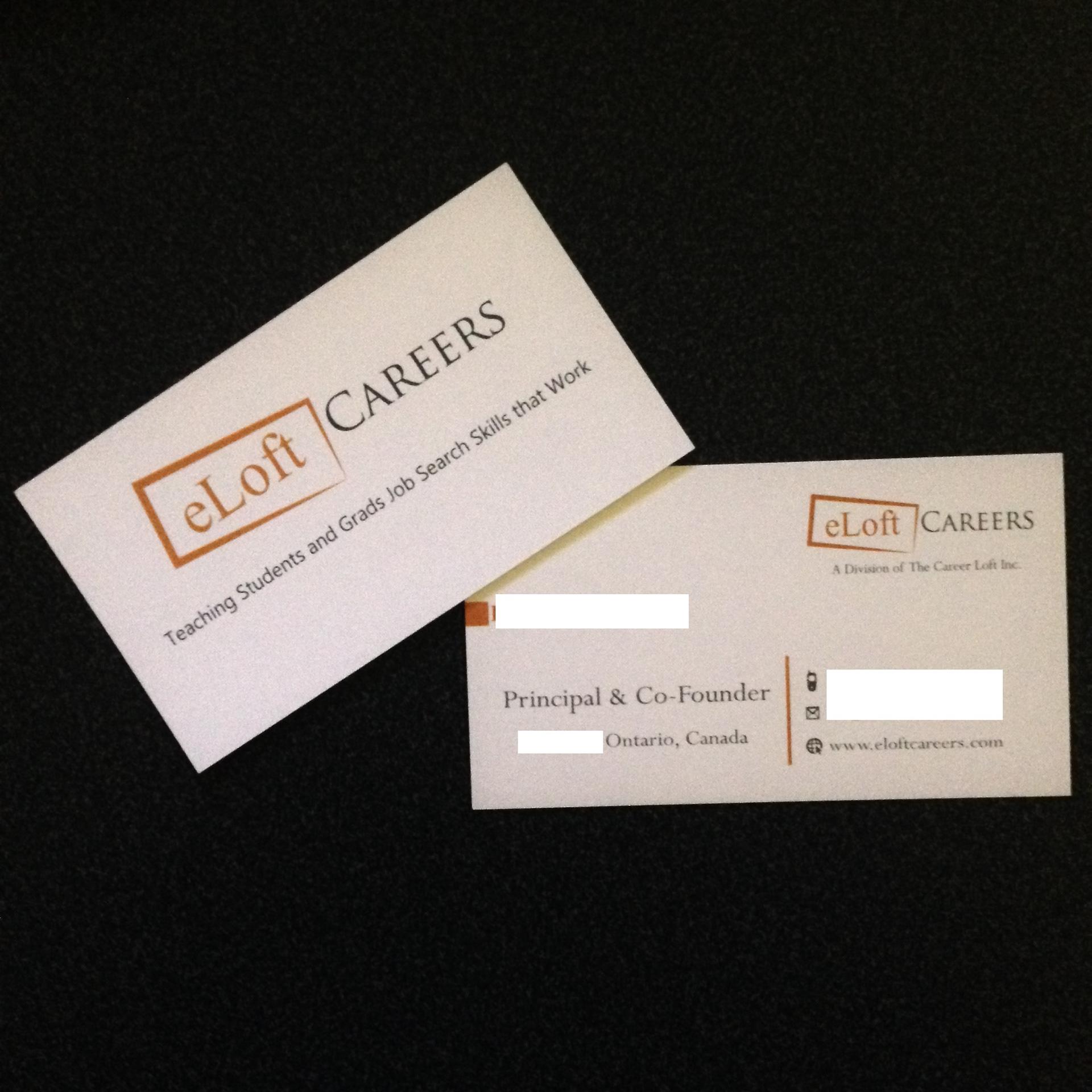 Semplice designs eloft careers business cards eloft careers business cards colourmoves