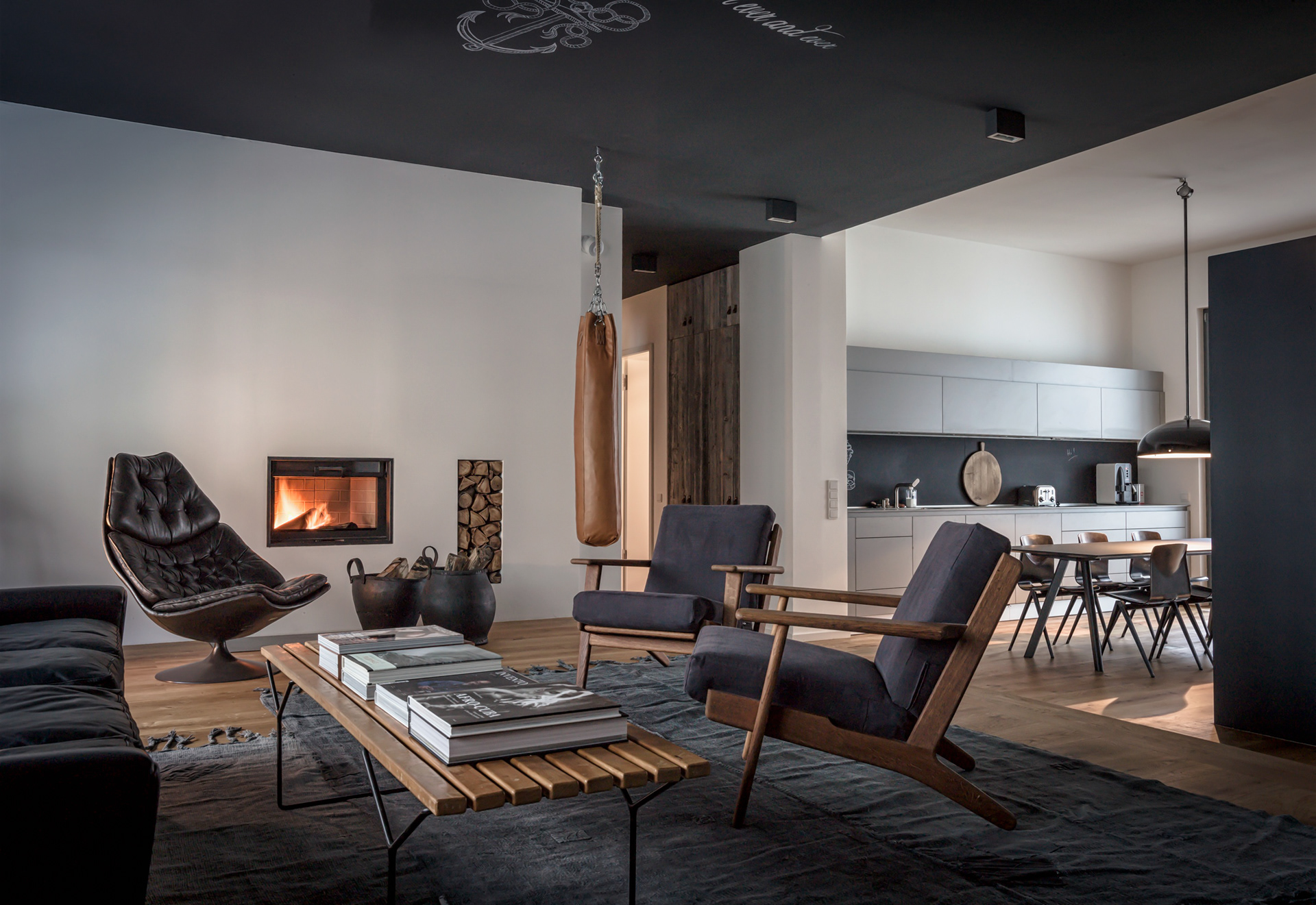 The eclectic design is an homage to berlin and its creative diversity