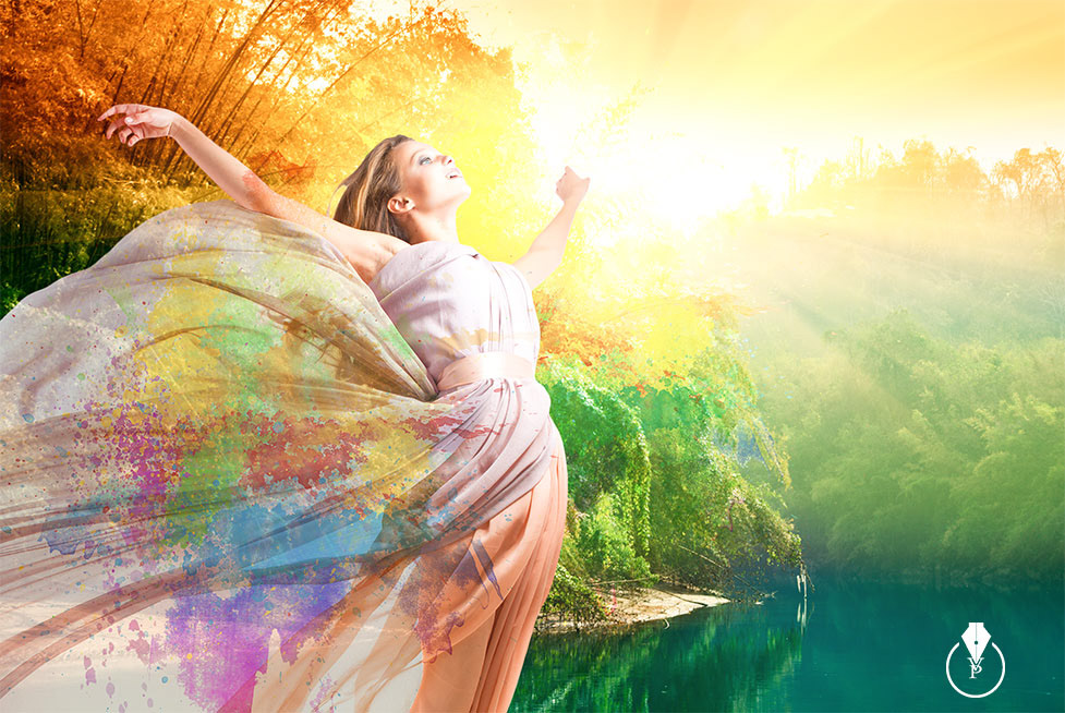 Victoria Pavlov - How to create a summer image in Adobe Photoshop CC