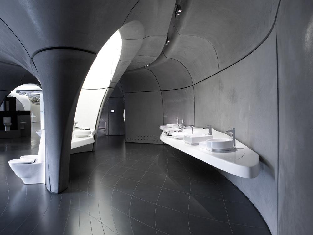 Nick Guttridge Roca London Gallery Zaha Hadid