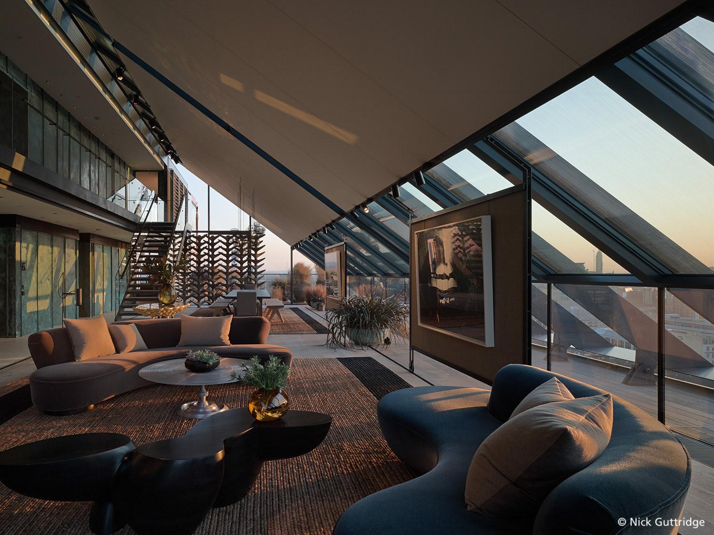 Nick Guttridge Neo Bankside Penthouse London