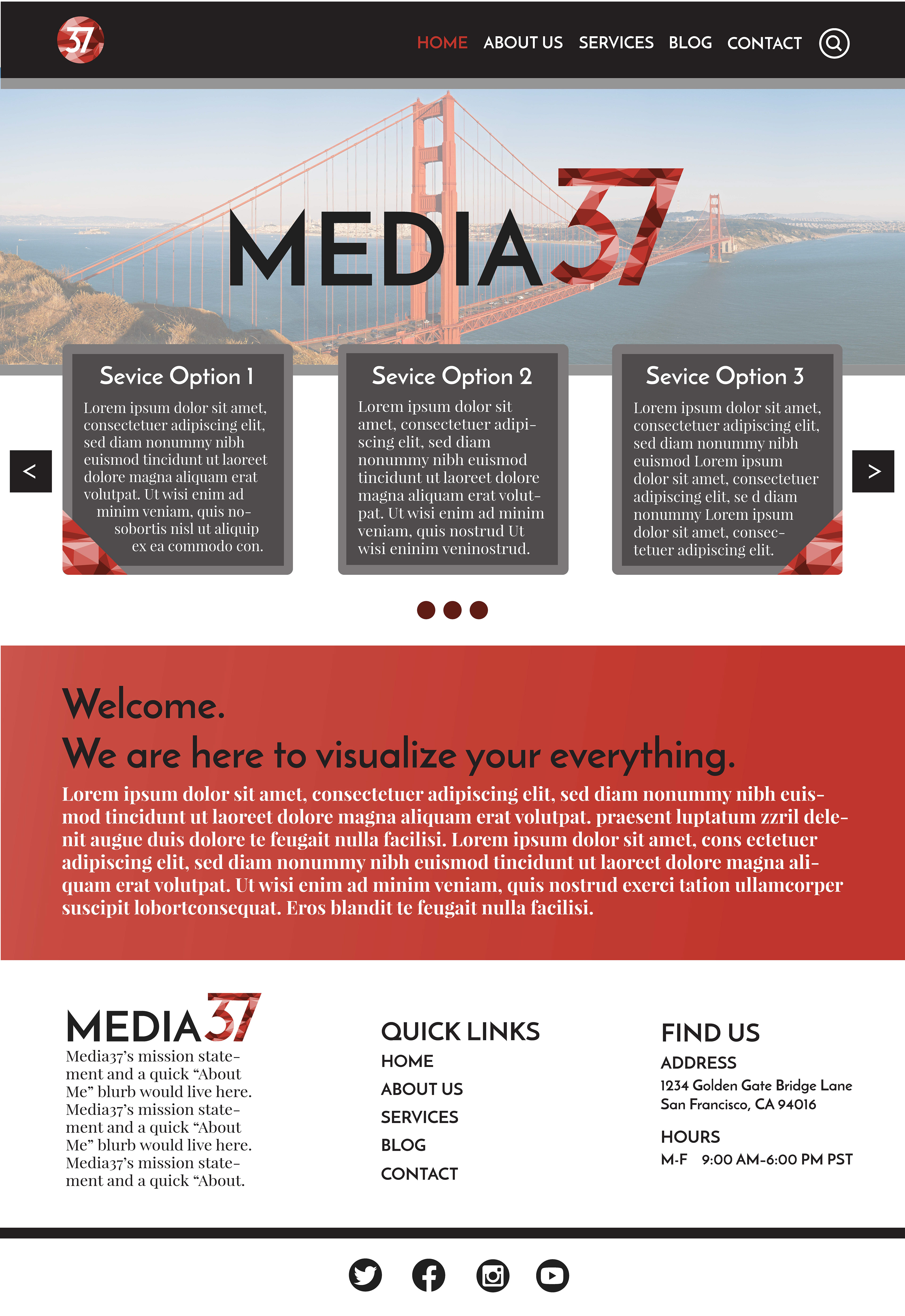 Megan kessler final project for fall 2017 course requirements business name logo design business card design letterhead design website homepage design favicon style guide and a summary of design reheart Image collections