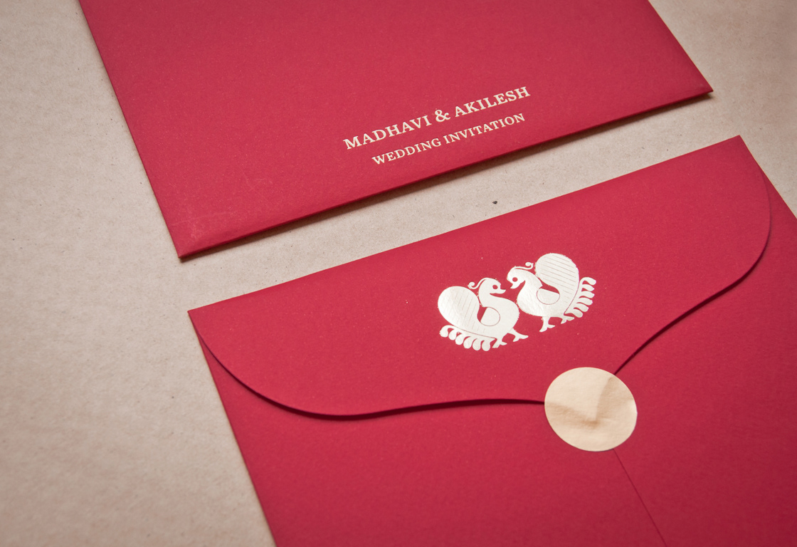 pallavi manchi - Crafting Celebration   Wedding Invite