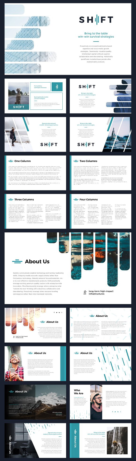 Webdesign resources development shift modern powerpoint shift is a clean and easy to customize powerpoint template each of the images used are under the cc0 license and are included alramifo Gallery