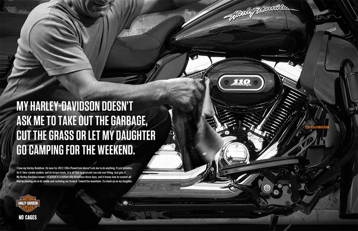 Harley Davidson Advertising: My Harley Davidson
