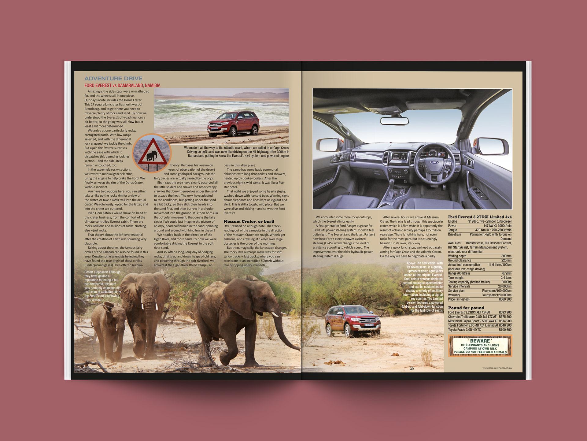 Colleen Mulrooney Leisure Wheels magazine