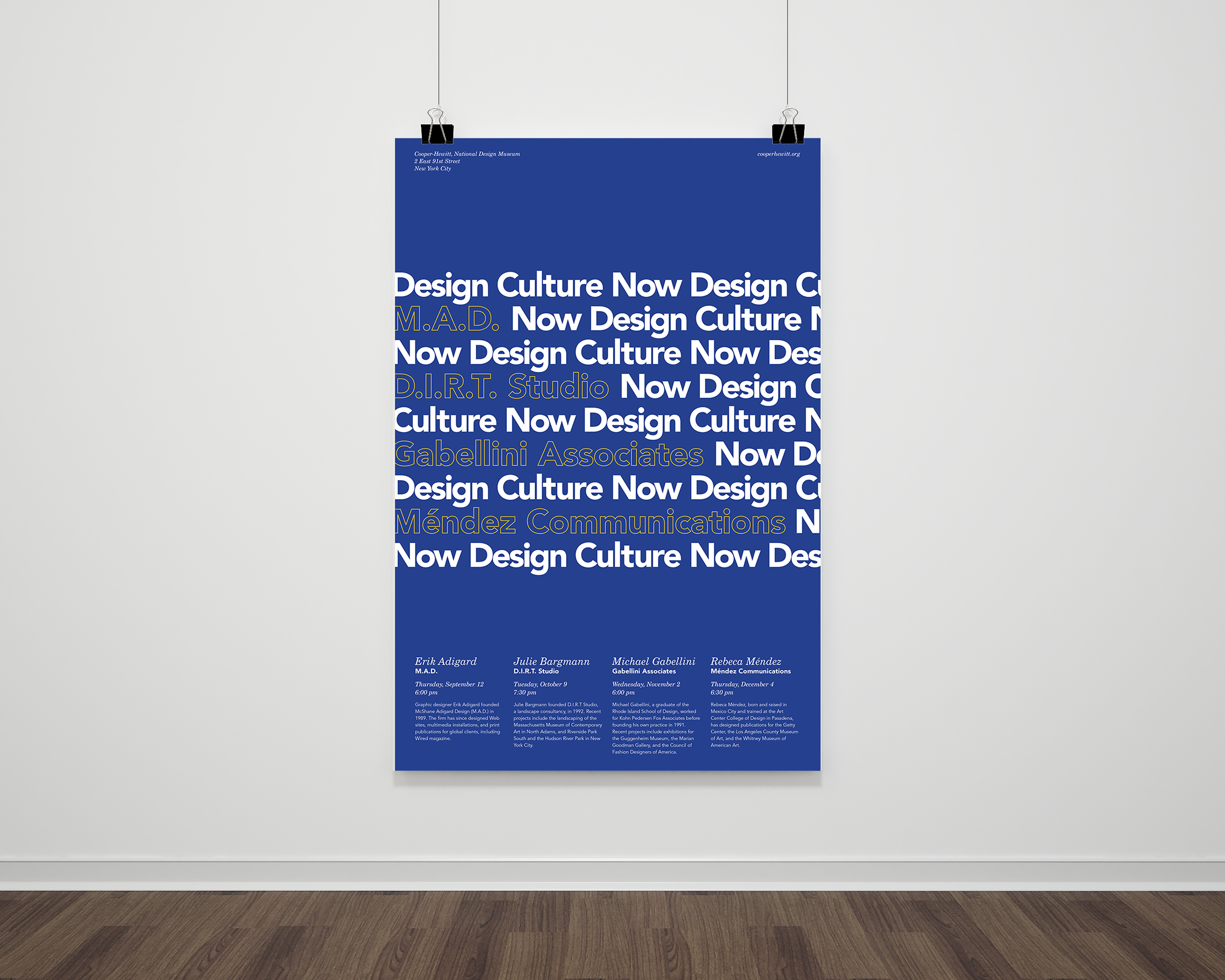 Kierrah Byrd - Design Culture Now Marketing Collateral