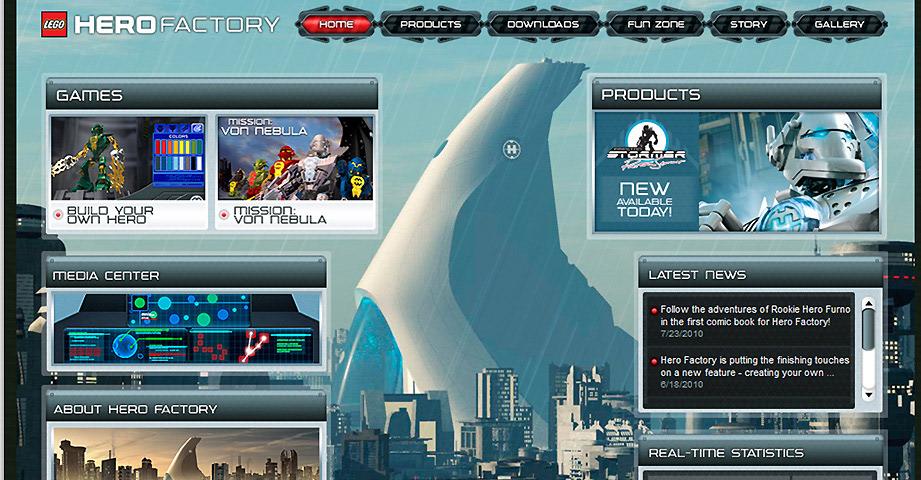 Dan Ferguson Lego Hero Factory Online Experience