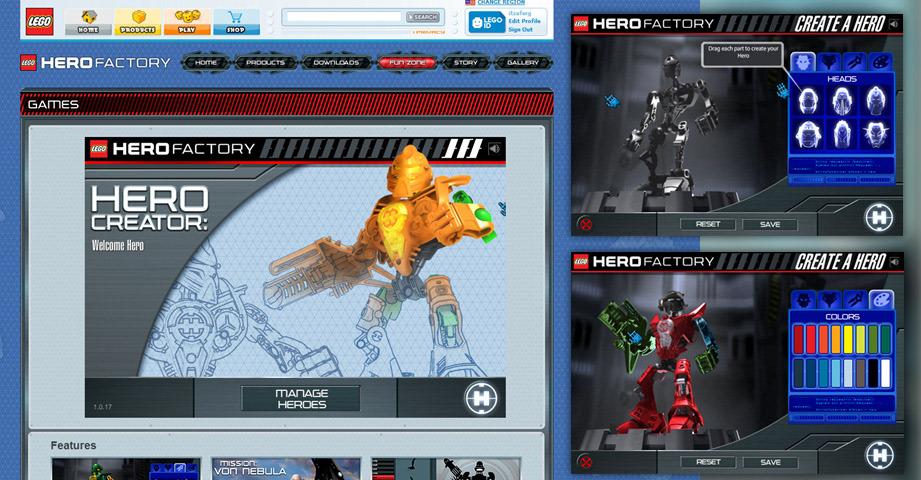 Dan Ferguson - LEGO Hero Factory Online Experience