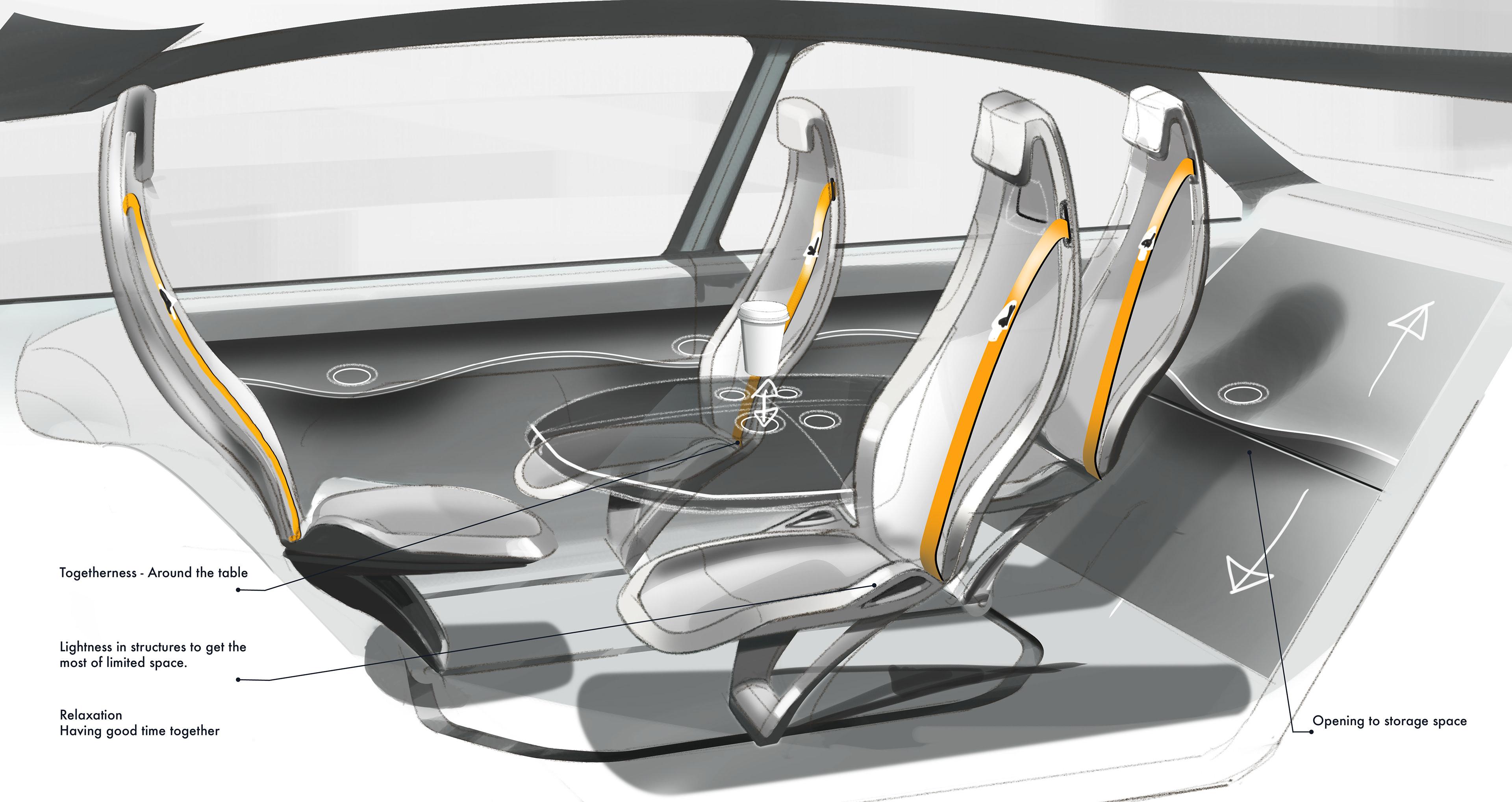 juha pekka rautio portfolio autonomous car interior concept. Black Bedroom Furniture Sets. Home Design Ideas