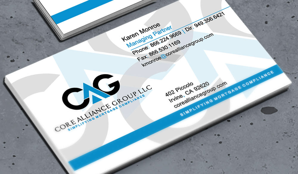 Dana Mathis - CAG Business Cards