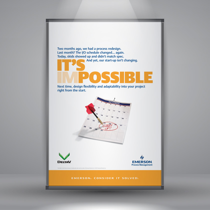 STEPHEN BAKER - Emerson Process Management trade show posters