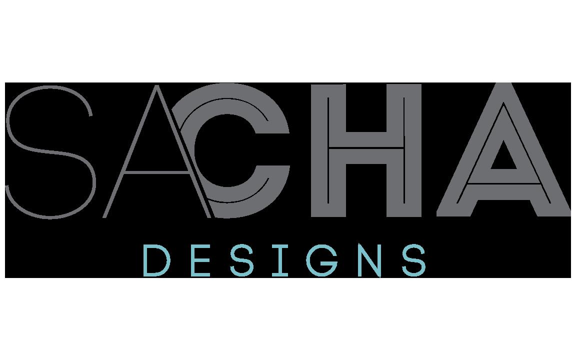 sacha designs logo
