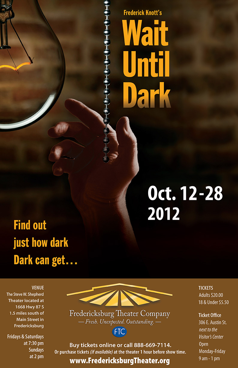 a review of wait until dark by frederick knott