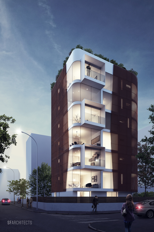 Ad P Architetti sfarchitects milano   studio di architettura e rendering 3d