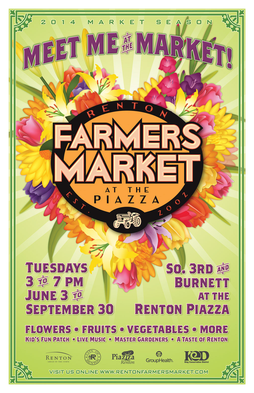 Mark Hoben - Senior Graphic Designer - Farmers Market Posters