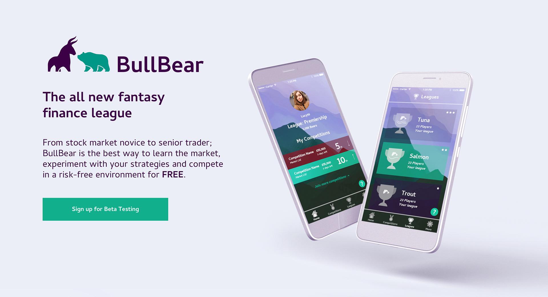 Global Initiative Portfolio - BullBear App Design & Build