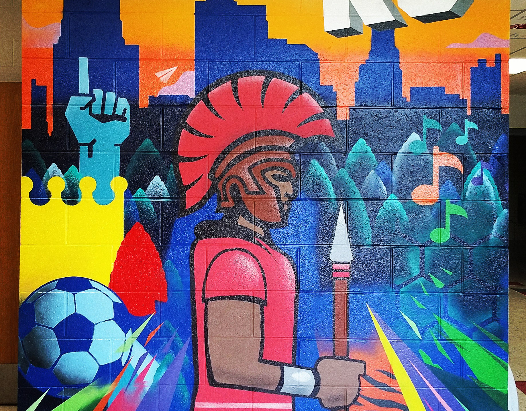 Academy Bank Springfield Mo >> Sike Style Industries - Antioch Spartan KC mural