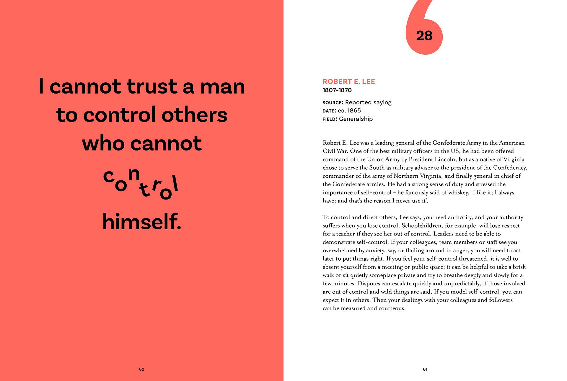 Tony Seddon Leadership In 100 Quotes