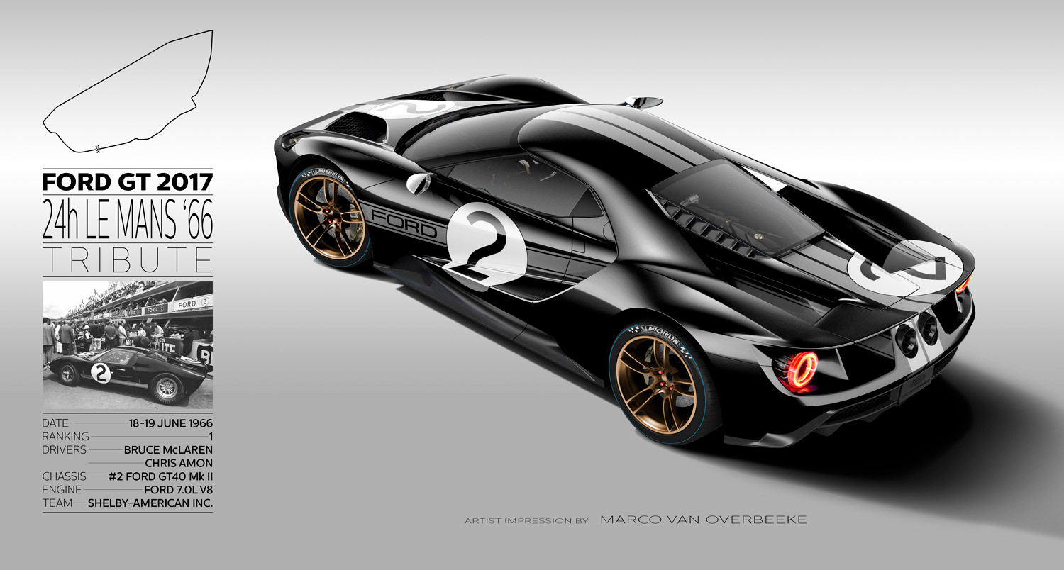 In  Ford Will Again Enter H Le Mans With The Spectacular Ford Gt And I Wish Them Great Luck In Doing So