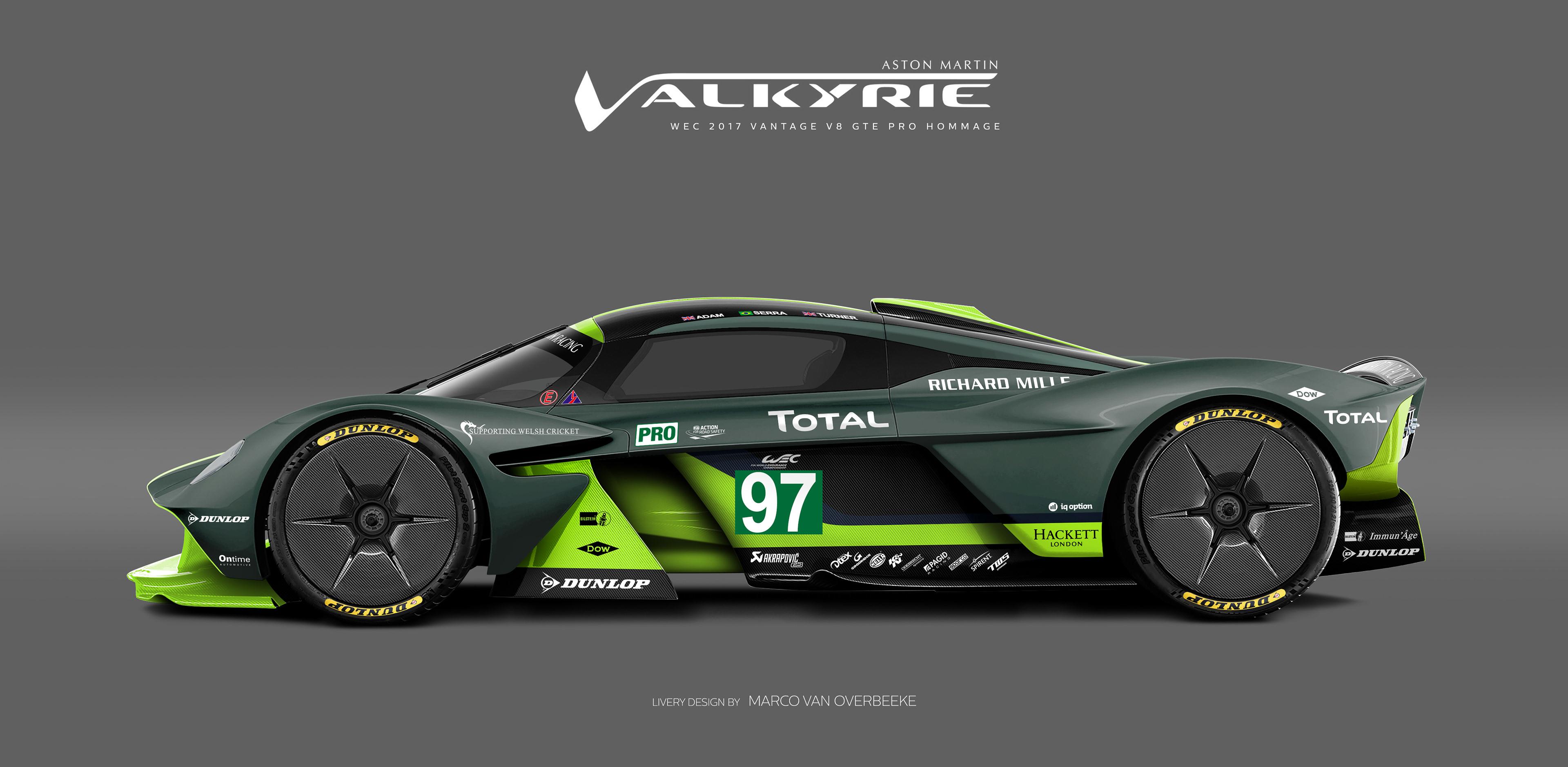 Aston Martin Used Car Ad >> Marco van Overbeeke | freelance automotive designer - Aston Martin Valkyrie Heritage & AMR Pro ...