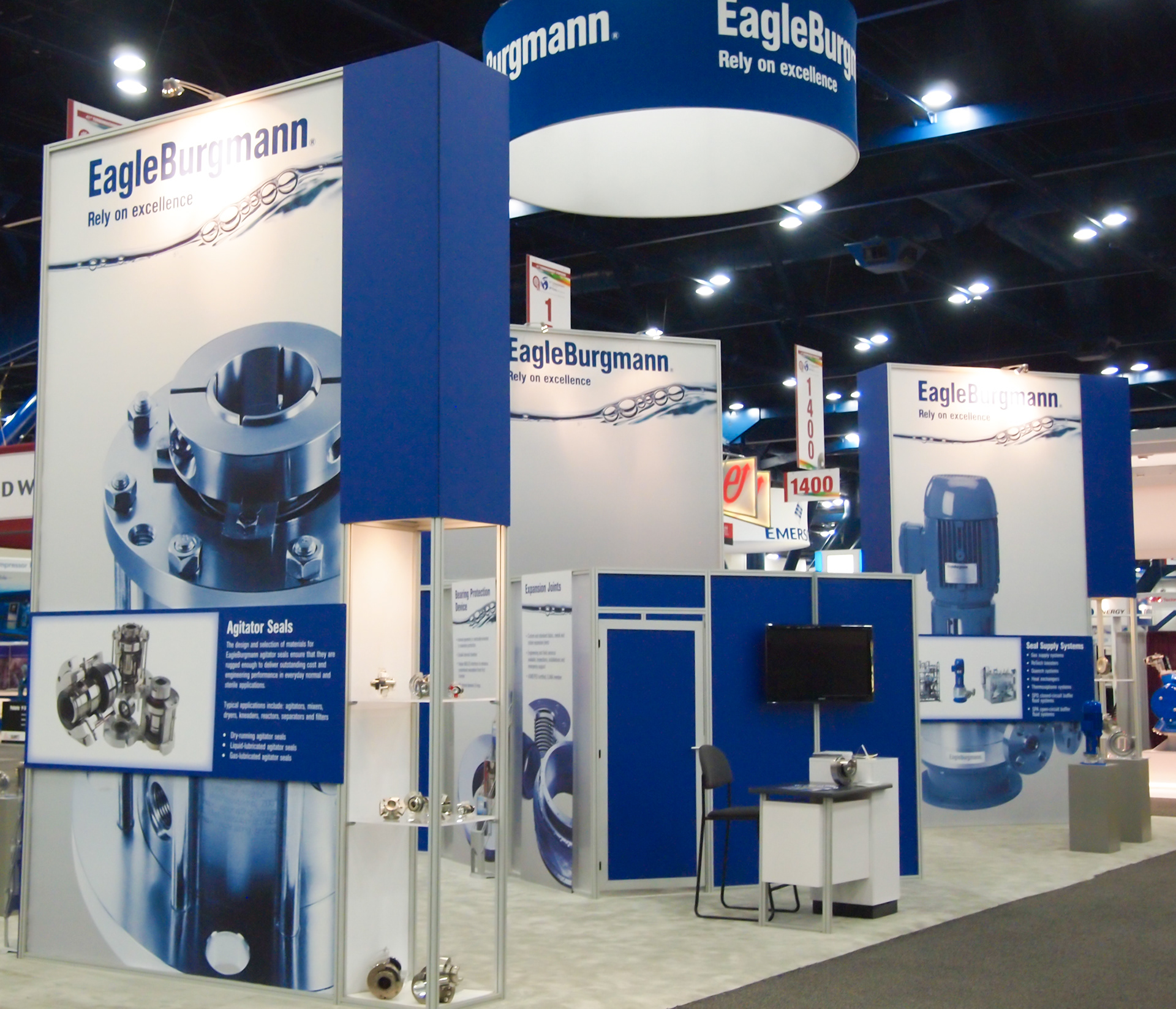 Modular Exhibition Stands Election : Scalise exhibits trade show displays graphics interiors design