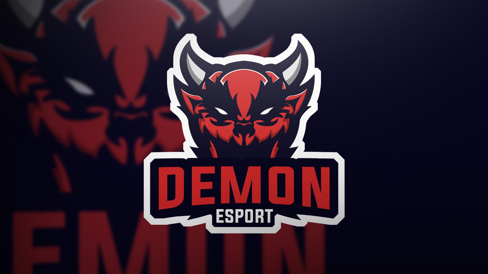 Edward Johansson Demon Mascot Logo