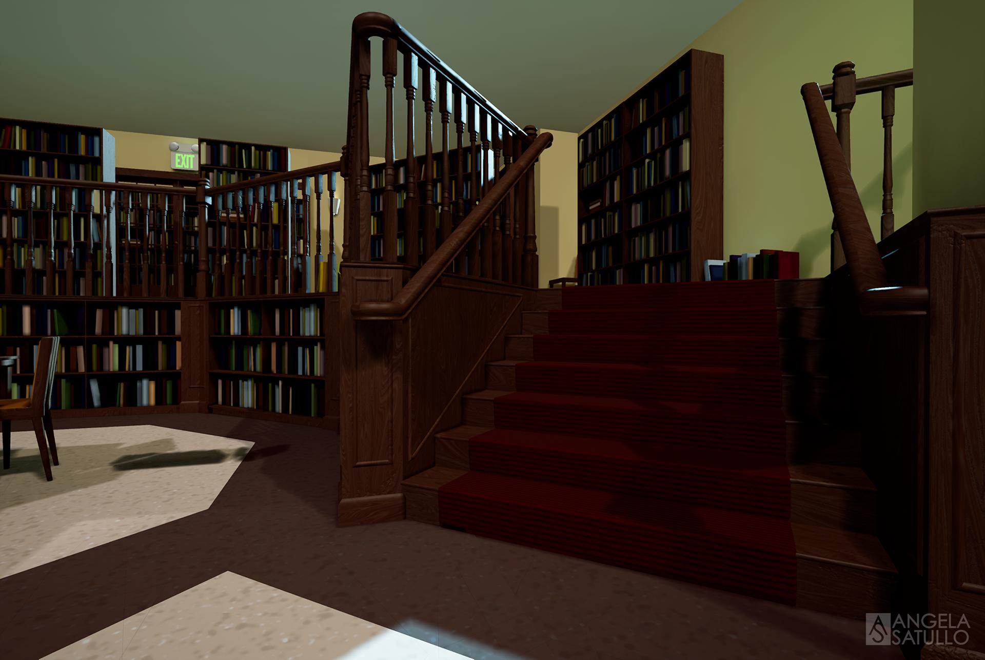 Angela Satullo - Sunnydale Library