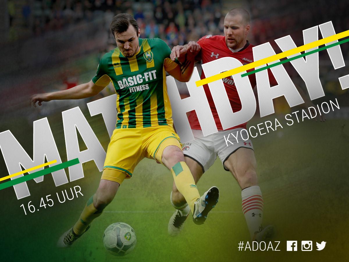 Bram Van Egmond Matchday Ado Den Haag Az Alkmaar
