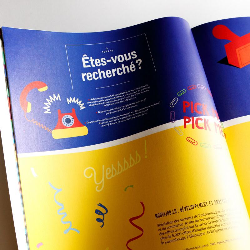 Zoë Mondloch - Illustrations for Paperjam Magazine