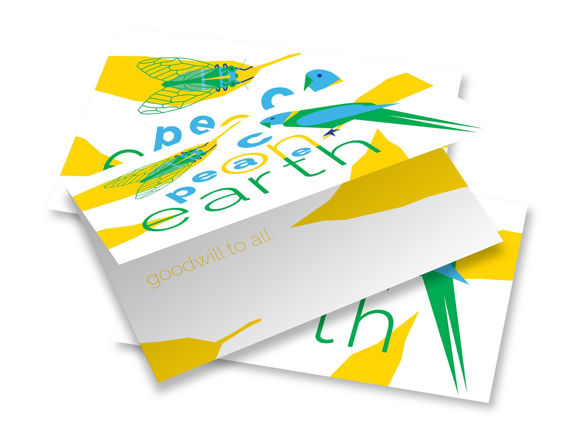 Simone Ericsson Graphic Design Greeting Card