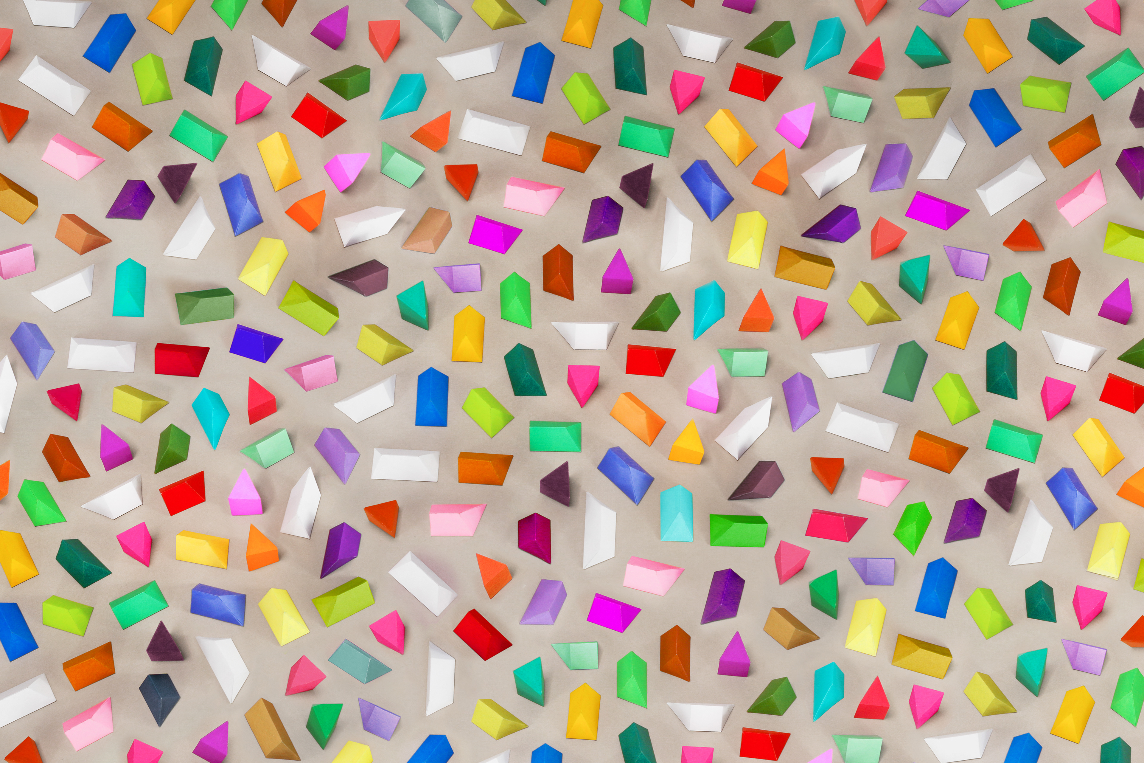 Ollanski prisms paper craft pattern prisms paper craft pattern jeuxipadfo Image collections