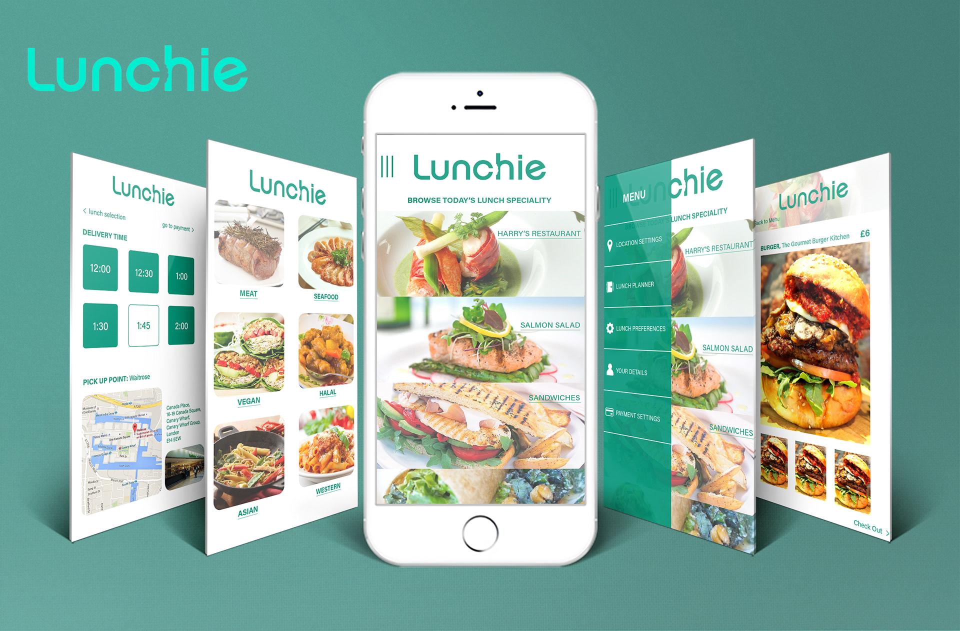 Fatima Khawam - DIGITAL-UI : Lunchie App