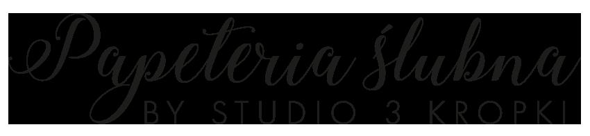 Witam na stronie Studia 3 Kropki oraz Papeterii ślubnej by Studio 3 Kropki