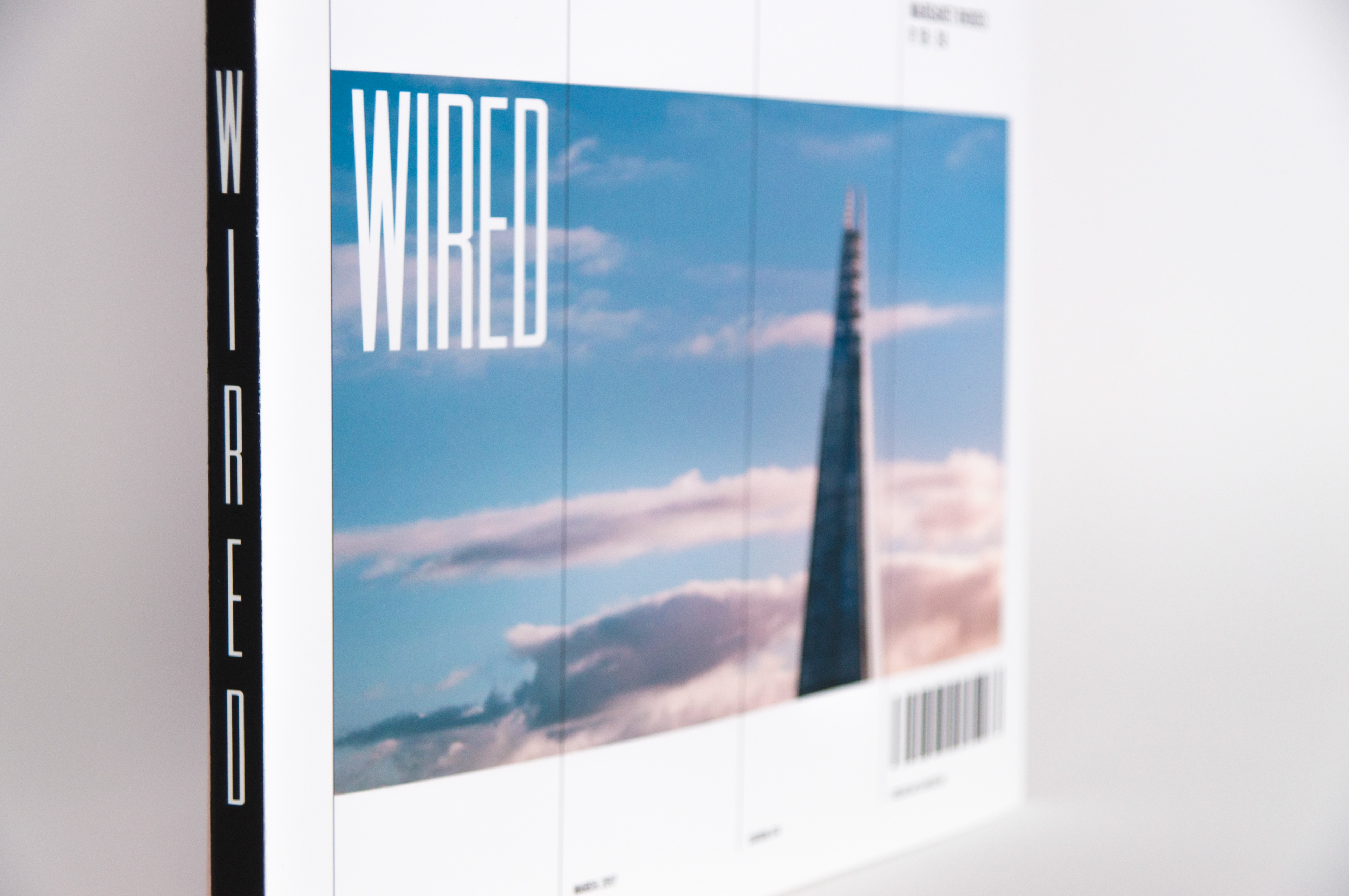 Lyon van den Oord - Wired Magazine: Cover redesign