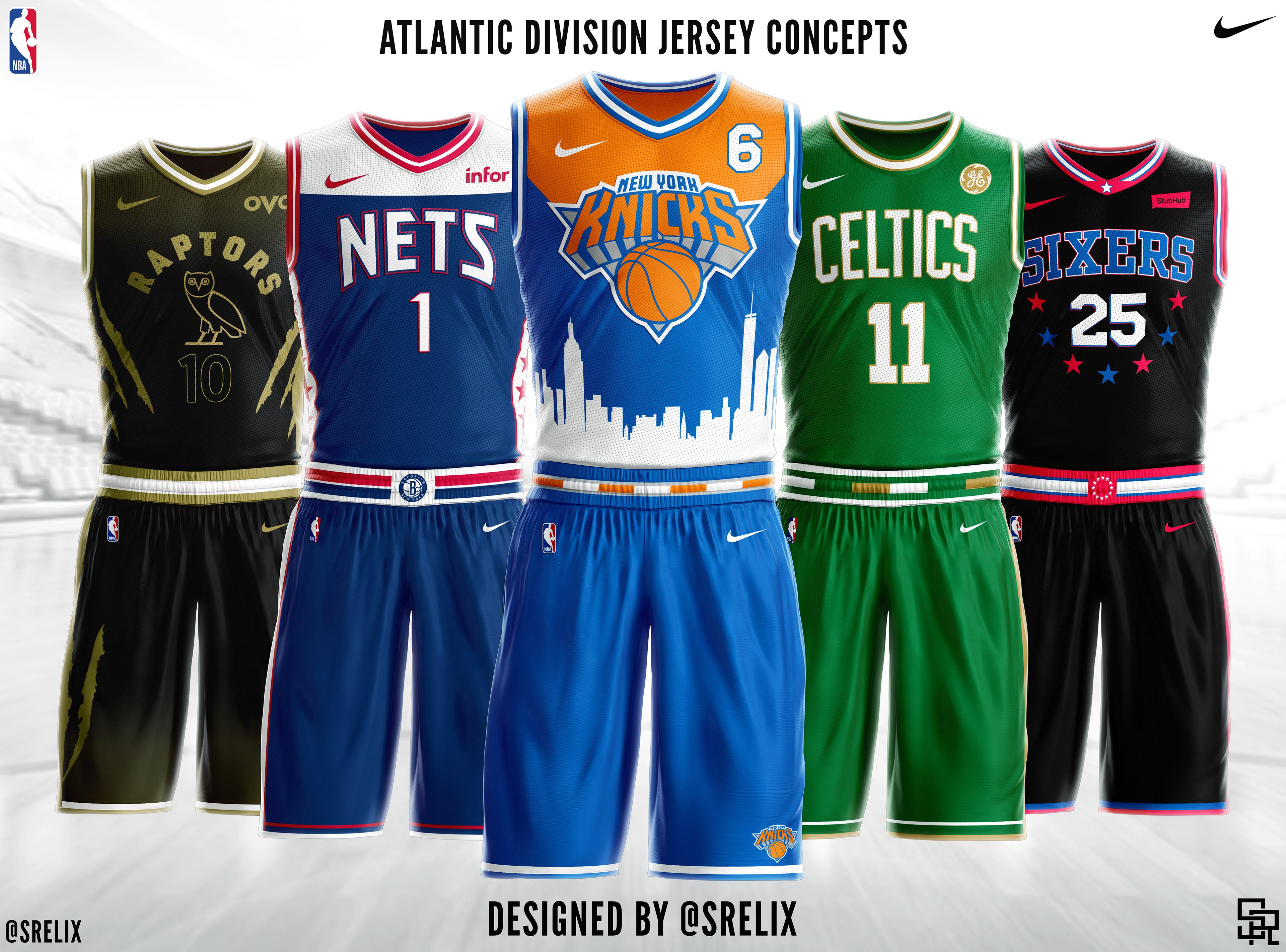 Srelix Nba Jersey Concepts