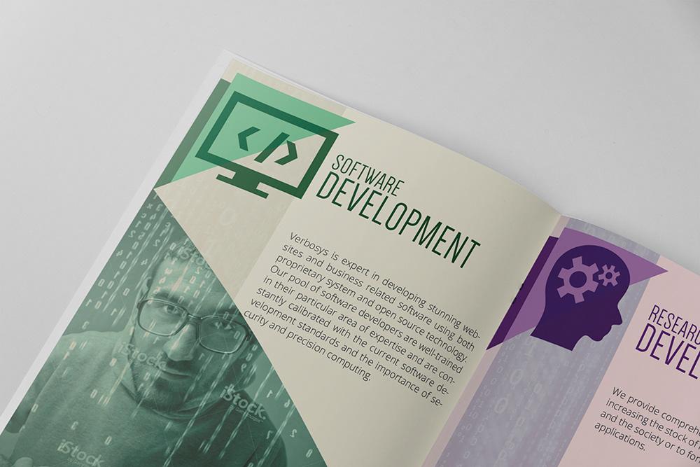Marc Gonzales Corporate Brochure Design