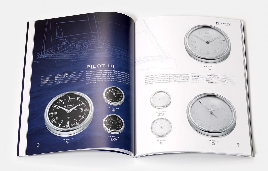 bergfest gesellschaft f r kommunikation mbh wempe chronometerwerke hamburg catalog design