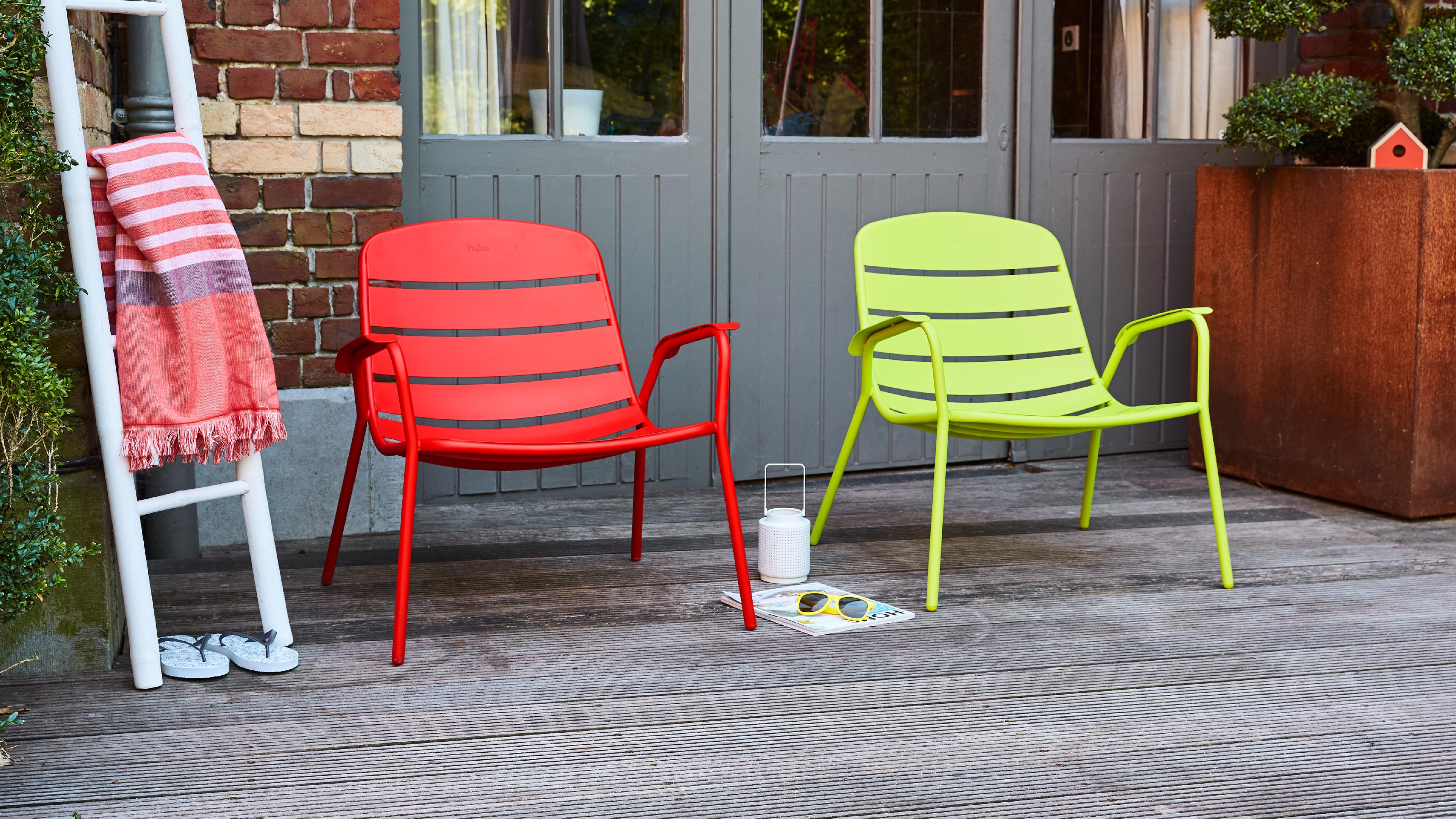 Designbycarrefour Acier151 Hyba # Table De Jardin Hyba